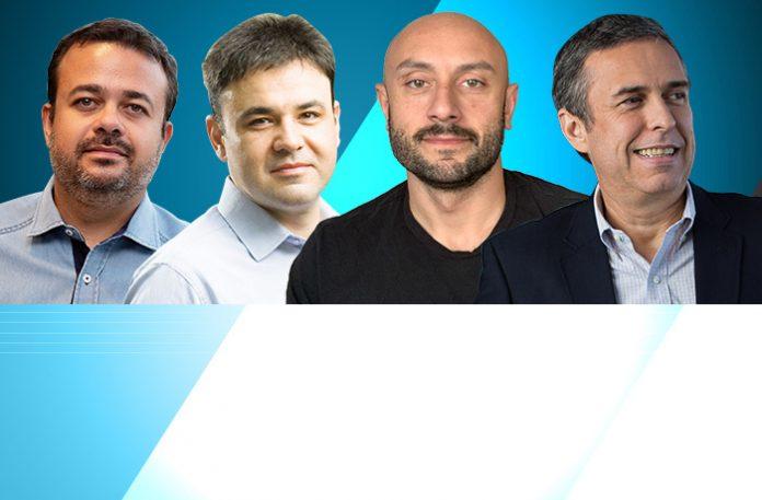 Cristiano Barbieri, Eduardo Morelli, Renato Costa e Fábio Lins