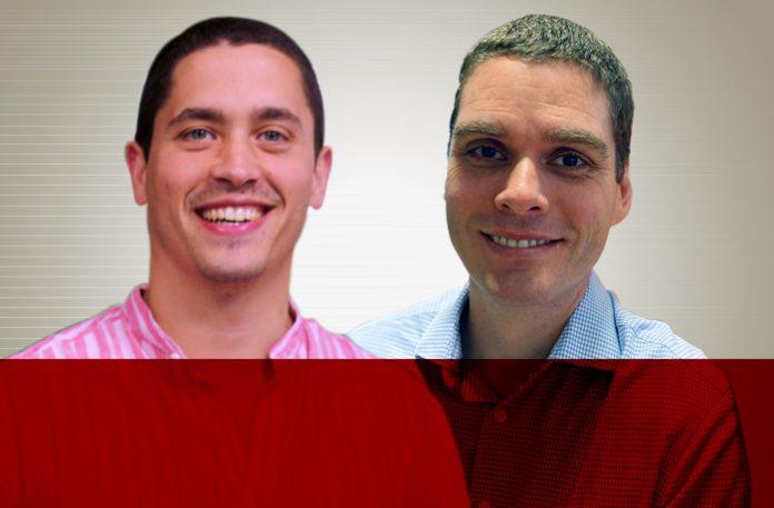 Diogo Silva, executivo sênior de contas da Pipedrive, e Fabio Boucinhas, CEO da Home Agent