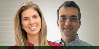 Maria Paula, vice-presidente & general manager, e Nelson Malta, diretor de marketing