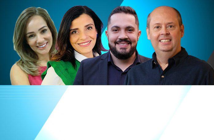 Dyani Bonacordi, Fabiana Oliveira, Filipe Bella e Júlio Plum