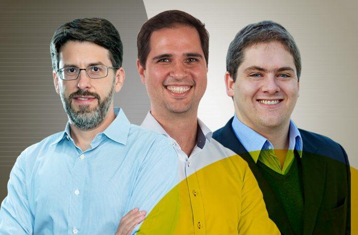 Marcelo Ramalho, André Bastos e Renan Schaefer