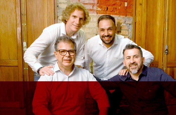 Júlio Xavier, Fabio Padovani, Rogério Barreto e William Sousa