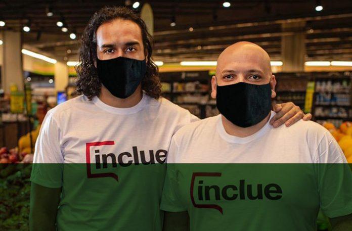 Sonny Pólito e Rodrigo Piris, sócios fundadores da Inclue