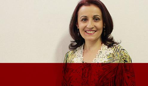 Ana Elisa Moreira Ferreira, diretora executiva da Univoz e facilitadora do curso